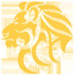 yellow lion logo